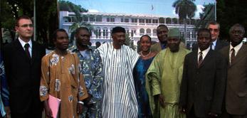 Le 24 mai 2006 ont été lancées les festivités du Centenaire du Palais Présidentiel de Koulouba.