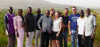 Le 16 avril 2016 a eu lieu une journée de détente de l'équipe EDIFICARE au Campement de Kangaba.