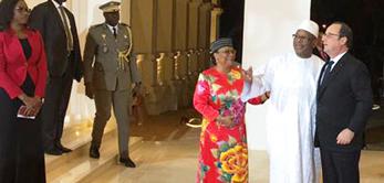Le 15 janvier 2017, le Palais de Koulouba réhabilité a été utilisé pour la réception des Chefs d'Etats du Sommet Afrique France.